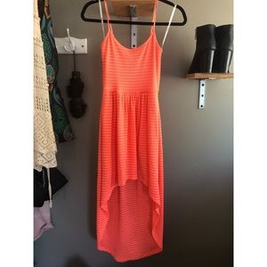 Mimi Chica Neon High Low Dress